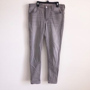 American eagle size 12 taupe jegging
